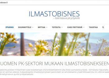 Pk-yritysten Ilmastobisnes.fi-sivusto Avattu
