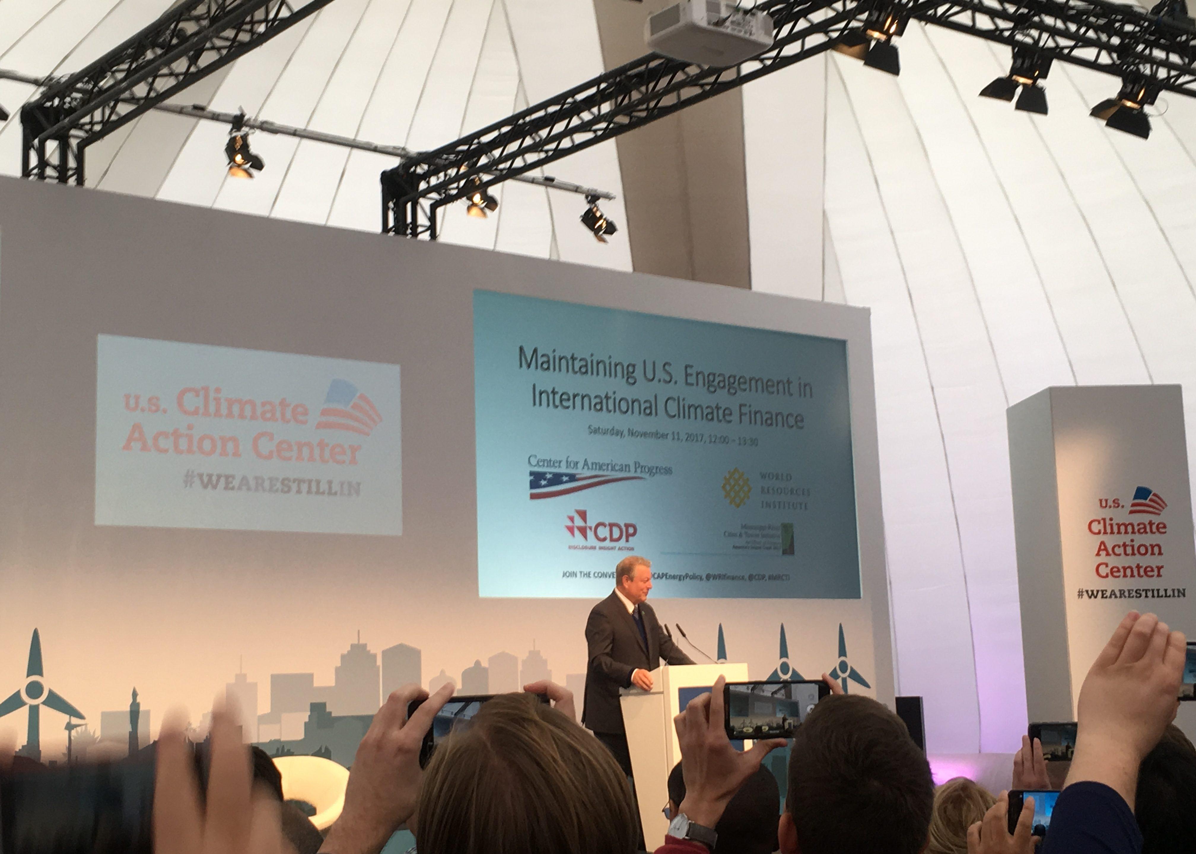 Valonpilkahduksia Bonnin Ilmastokokouksesta