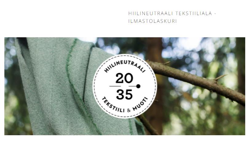 Tekstiilialan Hiilijalanjälkilaskuri Kertoo Tekstiilialan Päästöistä